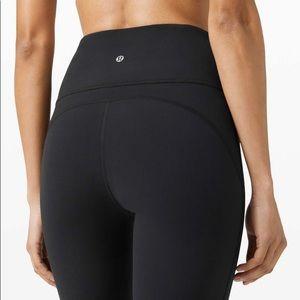 Lululemon High Waisted Groove Pants Black Size 8